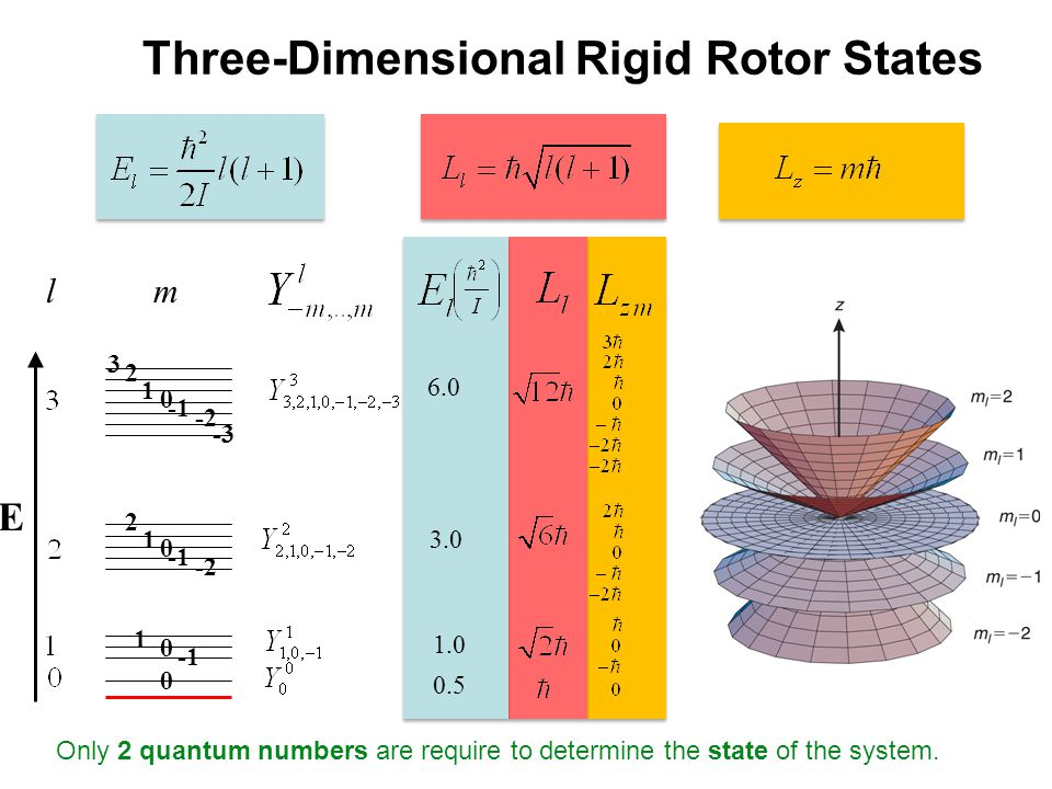 Three-Dimensional Rigid Rotor States