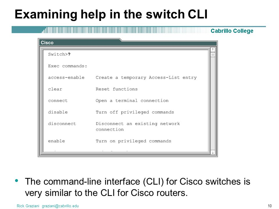 Ch  7 – Switch Configuration - ppt video online download