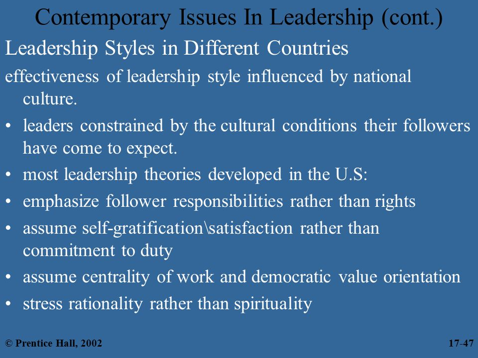 leadership and national culture pdf