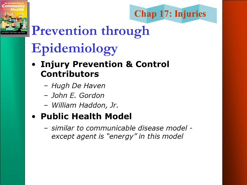 Prevention through Epidemiology