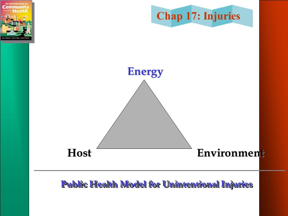 Public Health Model for Unintentional Injuries