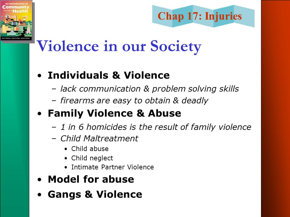 Violence in our Society