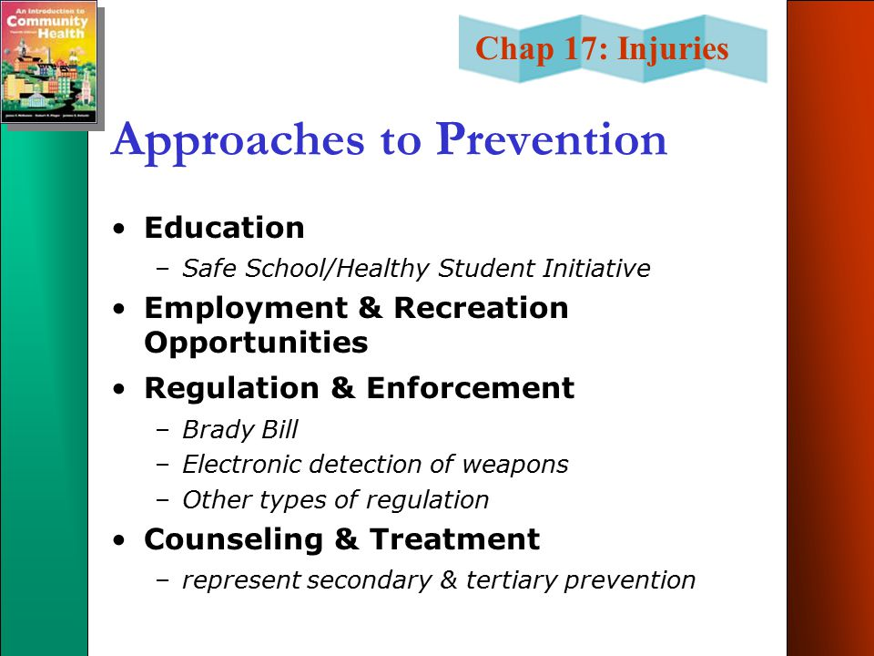 Approaches to Prevention