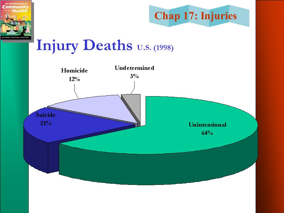 Injury Deaths U.S. (1998)