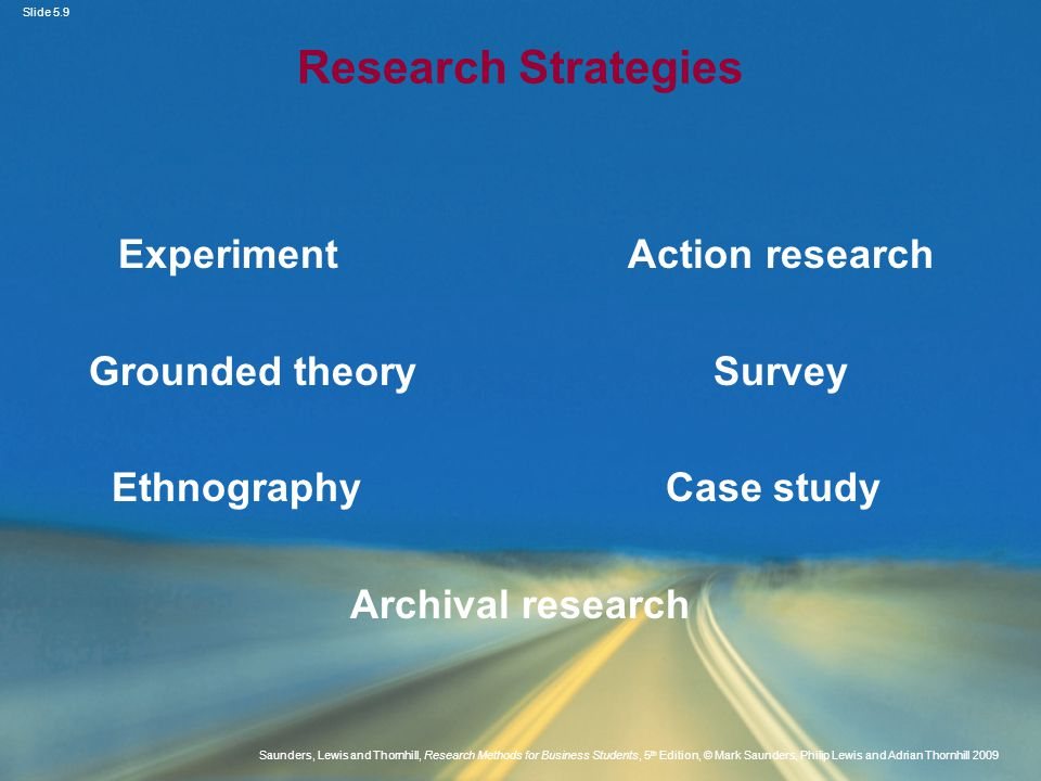 Experiment Action research