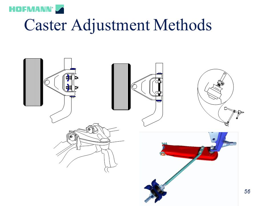 Caster Adjustment Methods