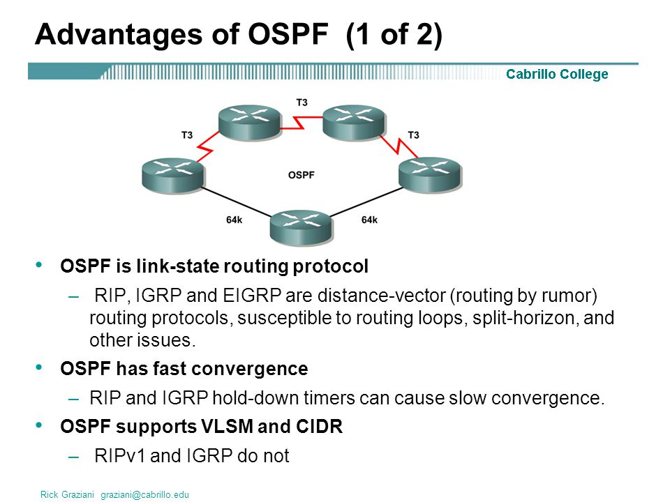 Single Area OSPF (CCNA 3). - ppt download