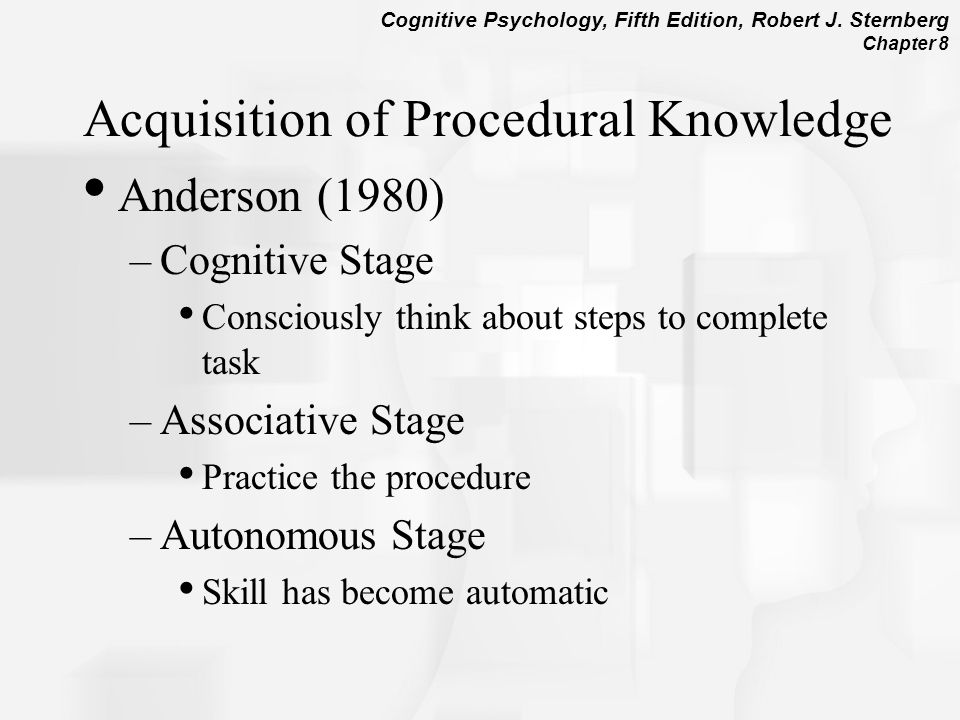 Chapter 8 Representation And Organization Of Knowledge In Memory