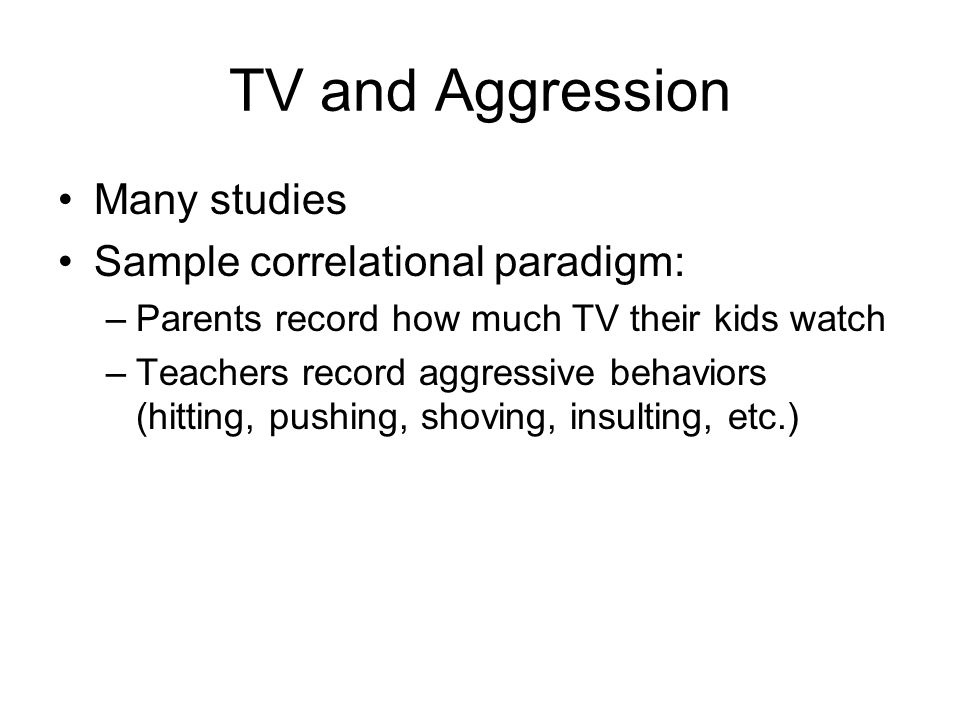 sample letter of business students are the users of an essays for 24619 | TV and Aggression Many studies Sample correlational paradigm%3A