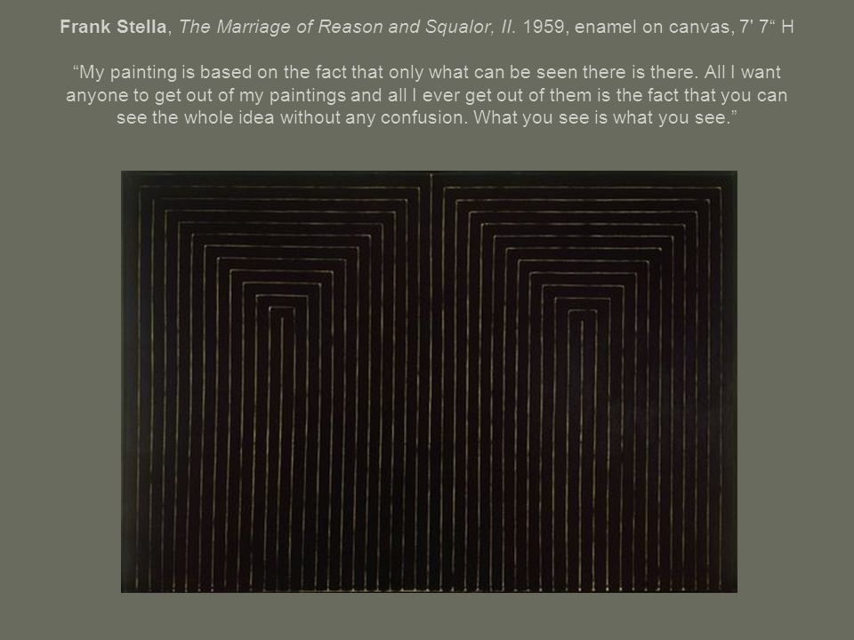 Frank Stella, The Marriage of Reason and Squalor, II