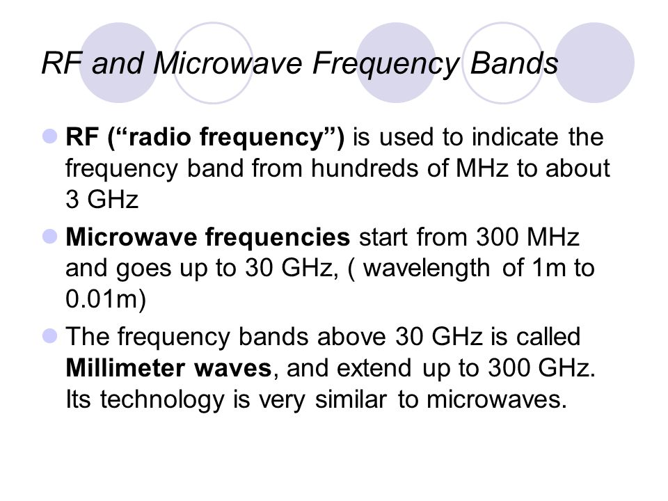Introduction to RF and Microwave Systems - ppt video online download