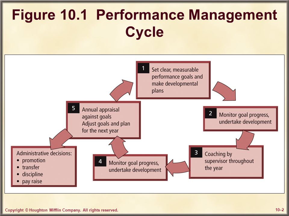 Figure 10.1 Performance Management Cycle