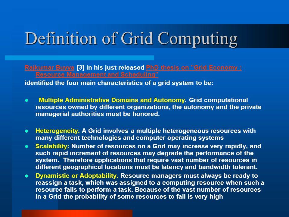 GRID COMPUTING Asad Khailany , Eastern Michigan University
