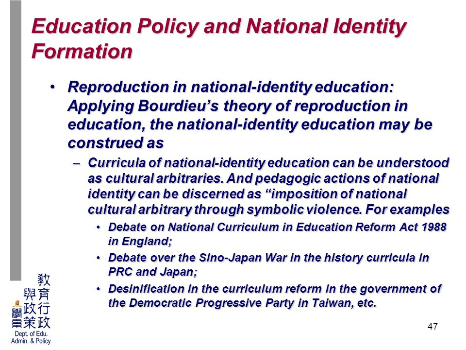 Edm 6210 Education Policy And Scoiety Lecture 8 Education Policy And