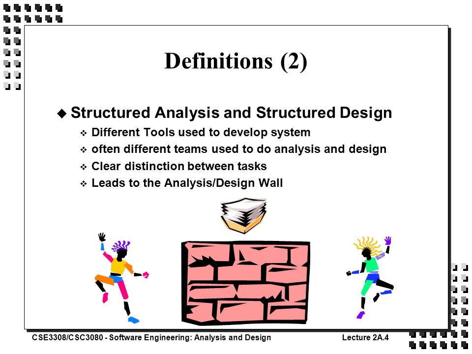 Software Engineering Analysis And Design Cse Ppt Video Online Download
