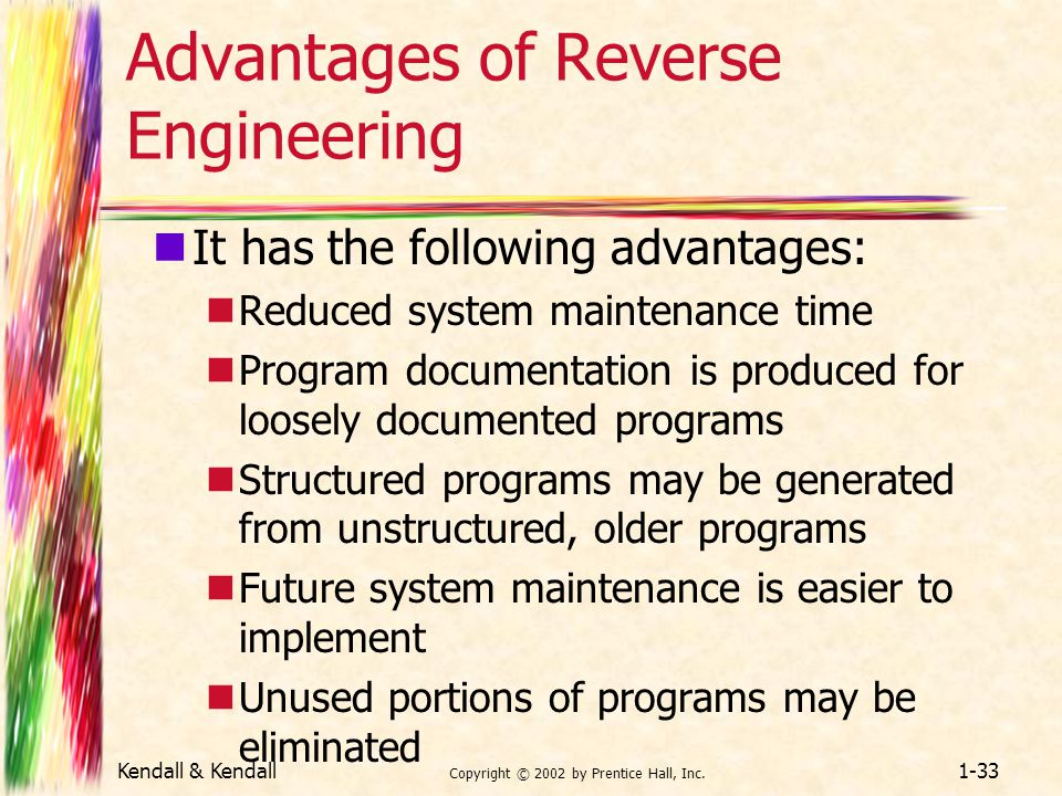 Advantages of Reverse Engineering