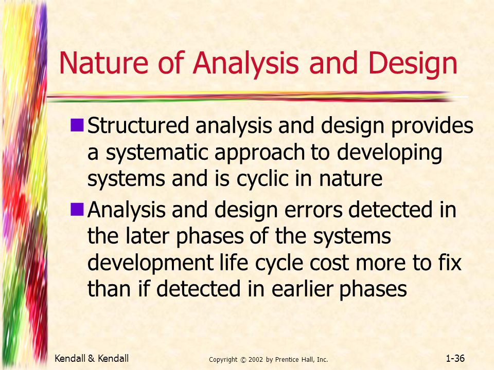 Nature of Analysis and Design