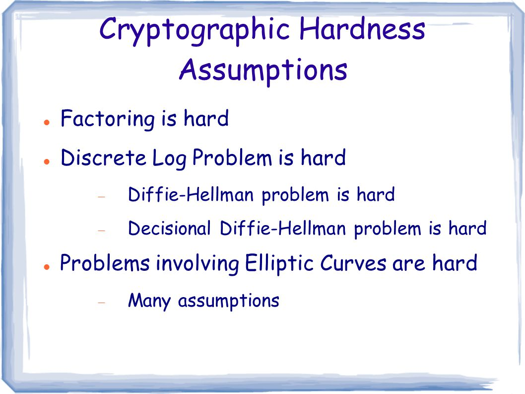 Lattice-Based Cryptography - ppt download