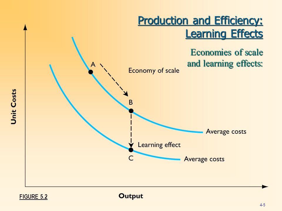 Production and Efficiency: Learning Effects