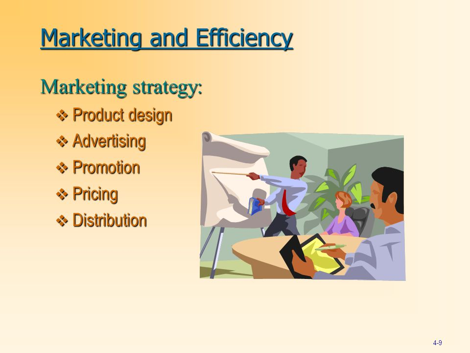 Marketing and Efficiency