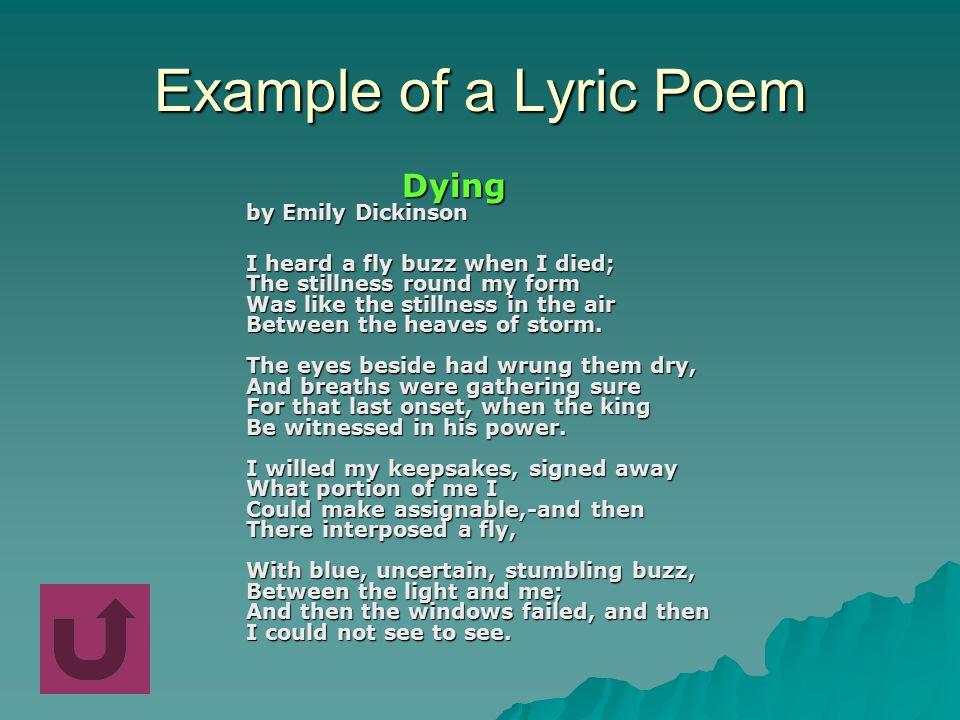 Lyric lyric poem examples : Lyric Narrative Dramatic - ppt video online download