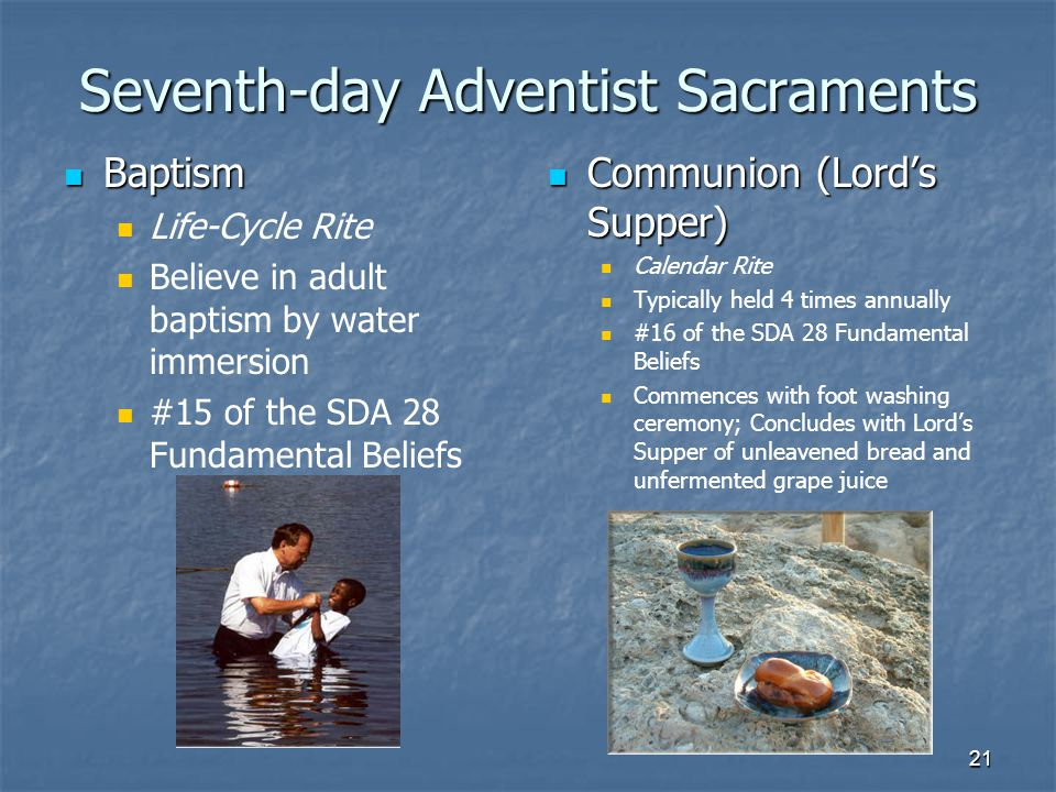 what do seventh day adventists believe
