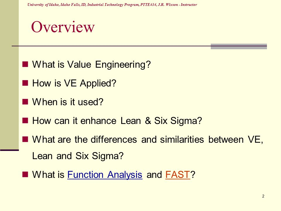 difference between value analysis and value engineering pdf