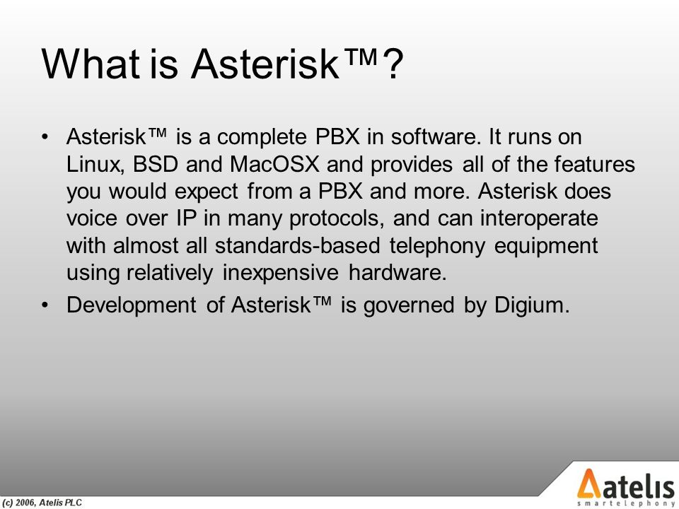 "VoIP and Asterisk for Newbies or ""Welcome to Asterisk…"" - ppt download"
