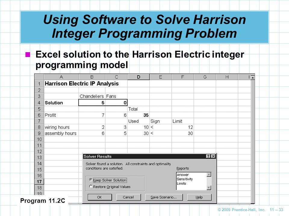 Integer Programming, Goal Programming, and Nonlinear