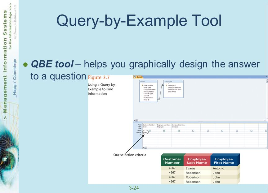 Query-by-Example Tool