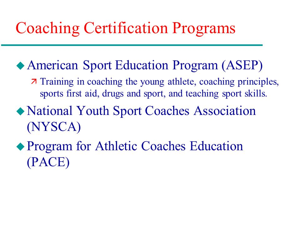 Chapter 11: Teaching and Coaching Careers in Physical Education and ...