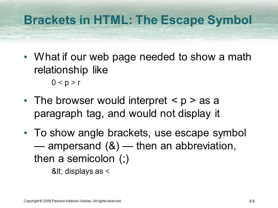 Copyright Symbol In Html Image Collections Meaning Of This Symbol