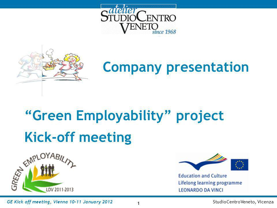 Green Employability project Kick-off meeting