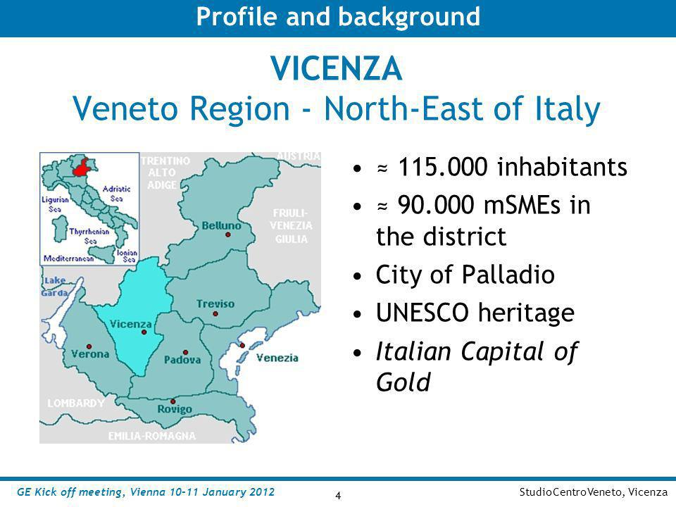 VICENZA Veneto Region - North-East of Italy