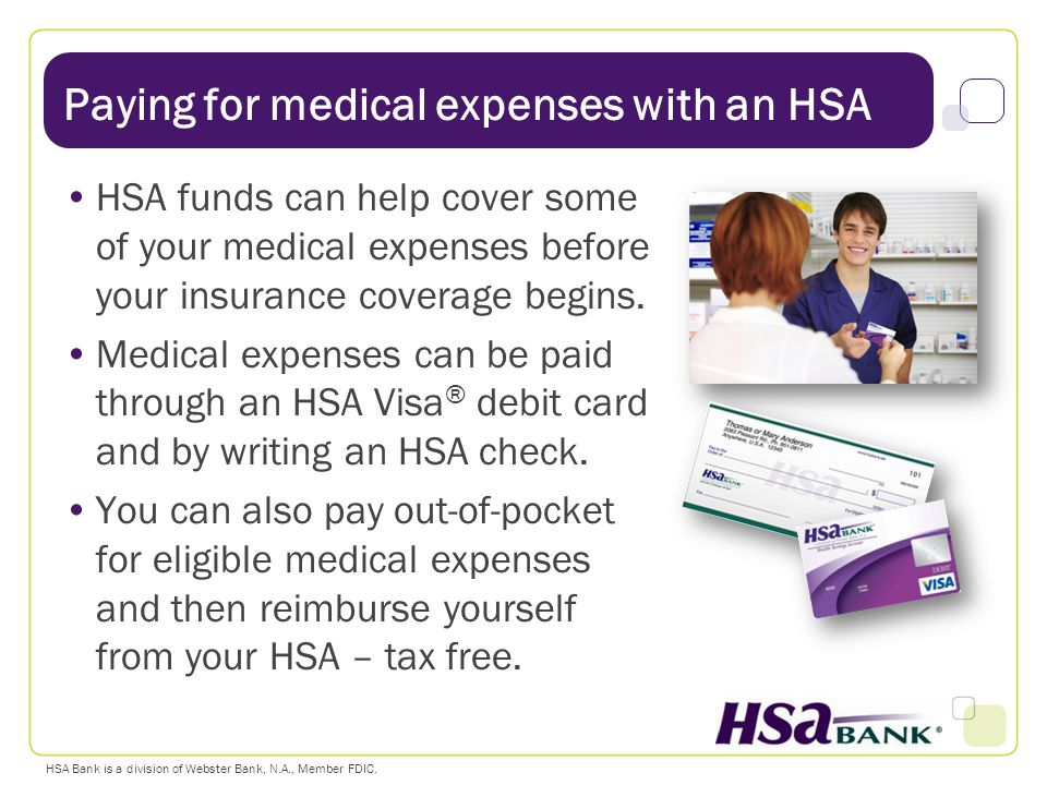 Paying for medical expenses with an HSA