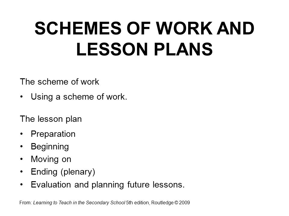 Schemes of work and lesson planning ppt video online download.