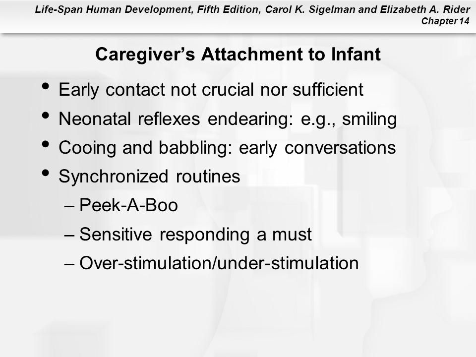 Caregiver's Attachment to Infant