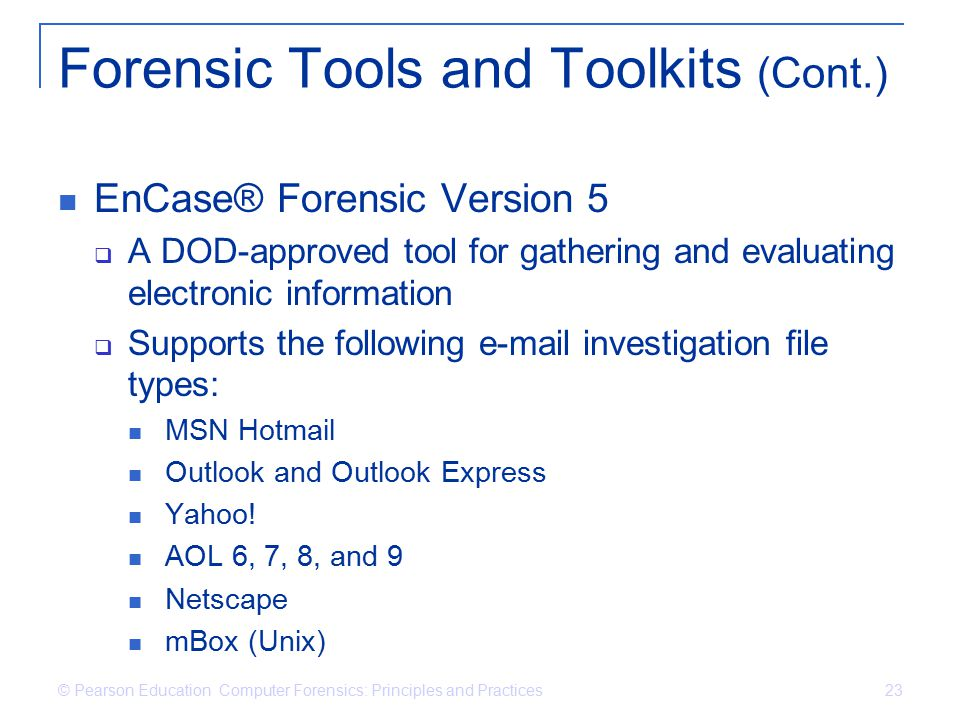 computer forensics principles and practices - ppt  online download