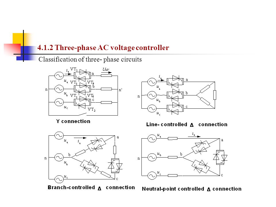 4.1.2 Three-phase AC voltage controller