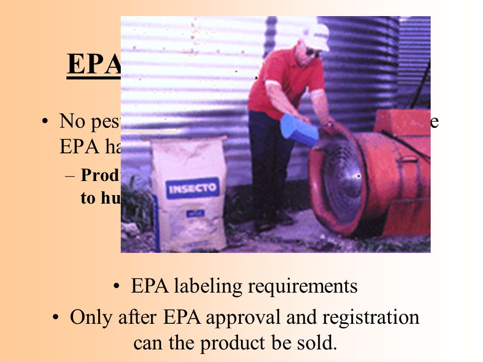 EPA Approval for Labeling