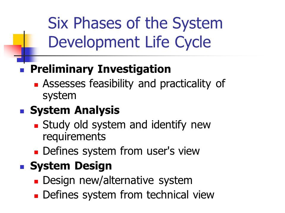 System Development Life Cycle Sdlc Ppt Video Online Download