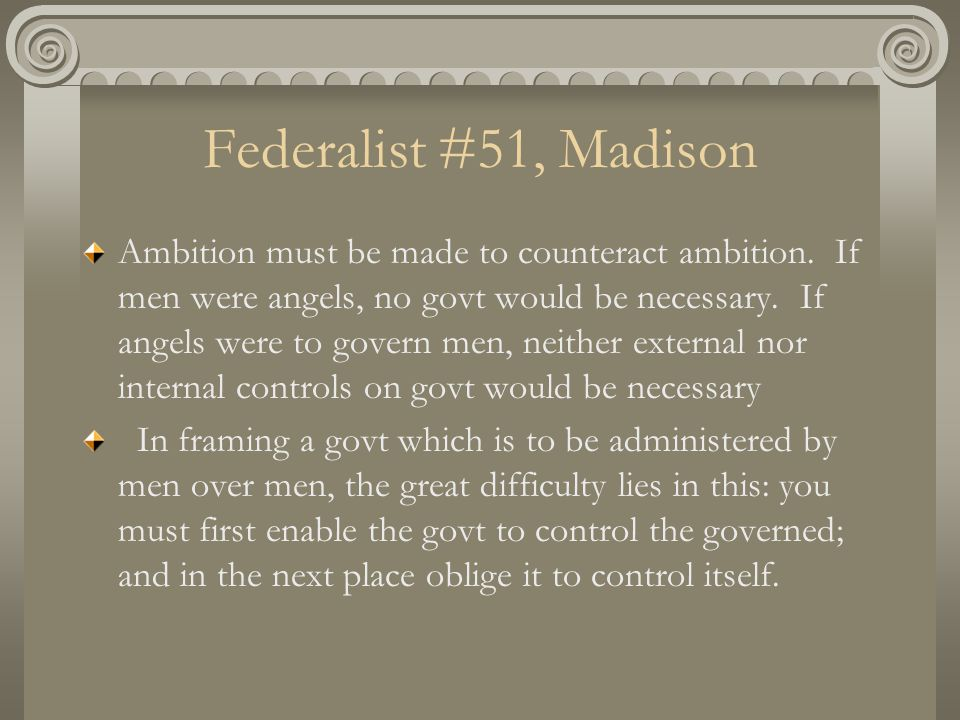 the federalist number 51
