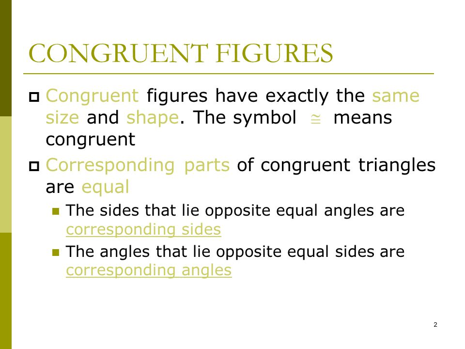 Congruent And Similar Figures Ppt Download