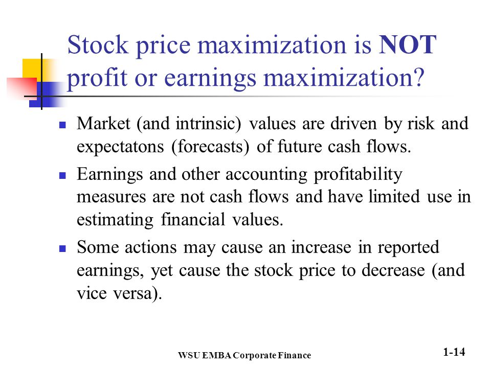 stock market cash flow pdf download