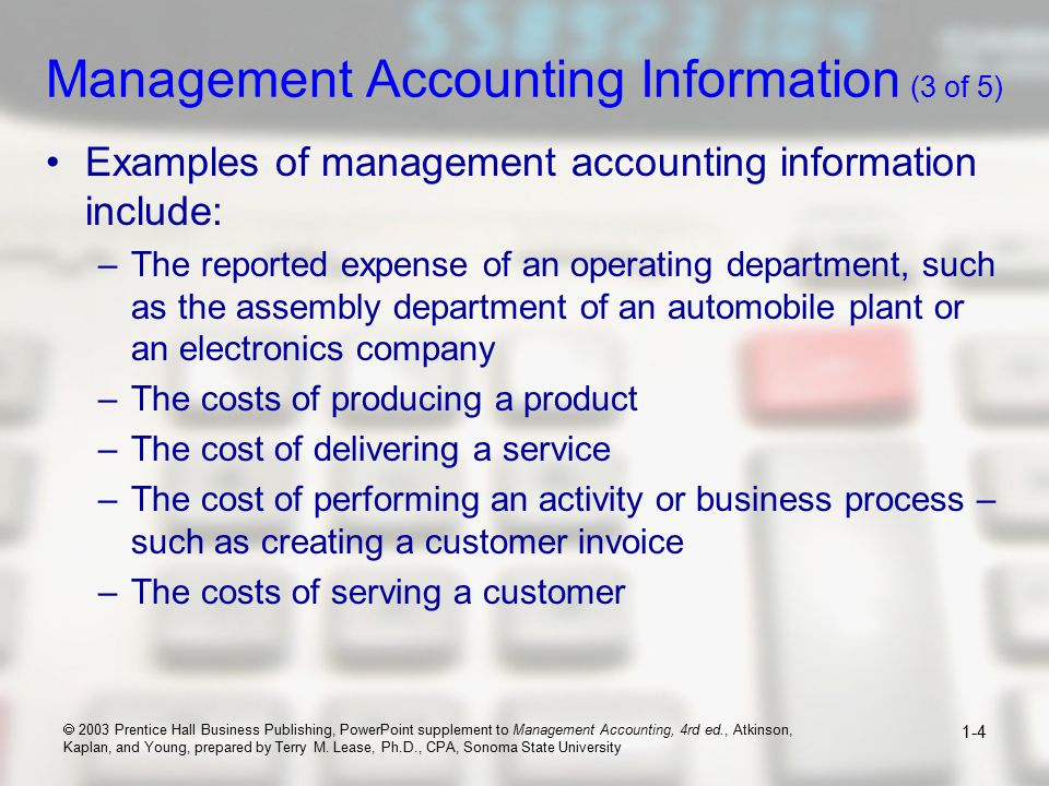 management accounting and suggested articles text Management accounting articles evidence as to the type of management accounting framework essentially contributed by scholars from the six leading journals 13 research objectives.