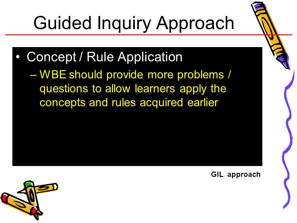 Guided Inquiry Approach