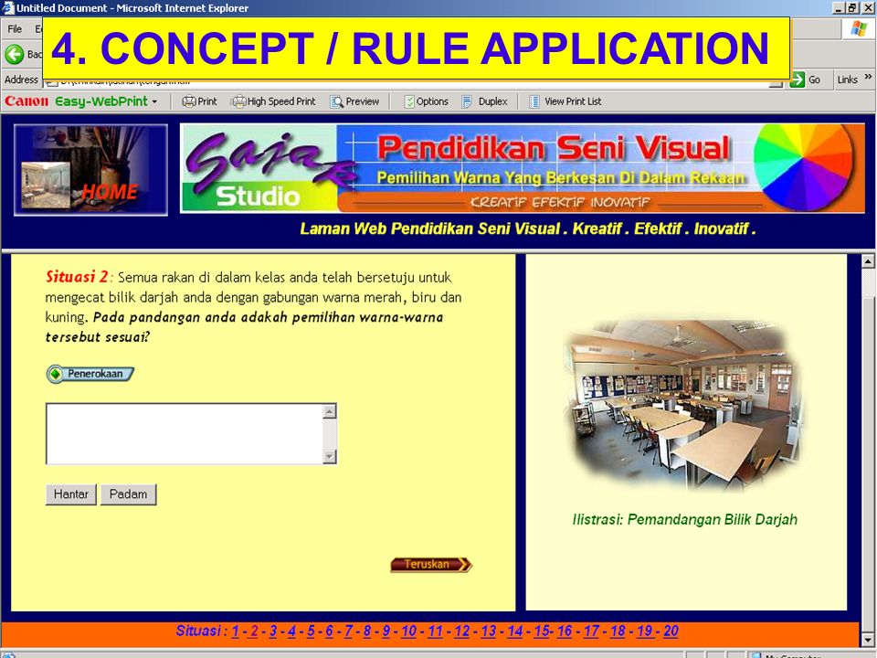4. CONCEPT / RULE APPLICATION
