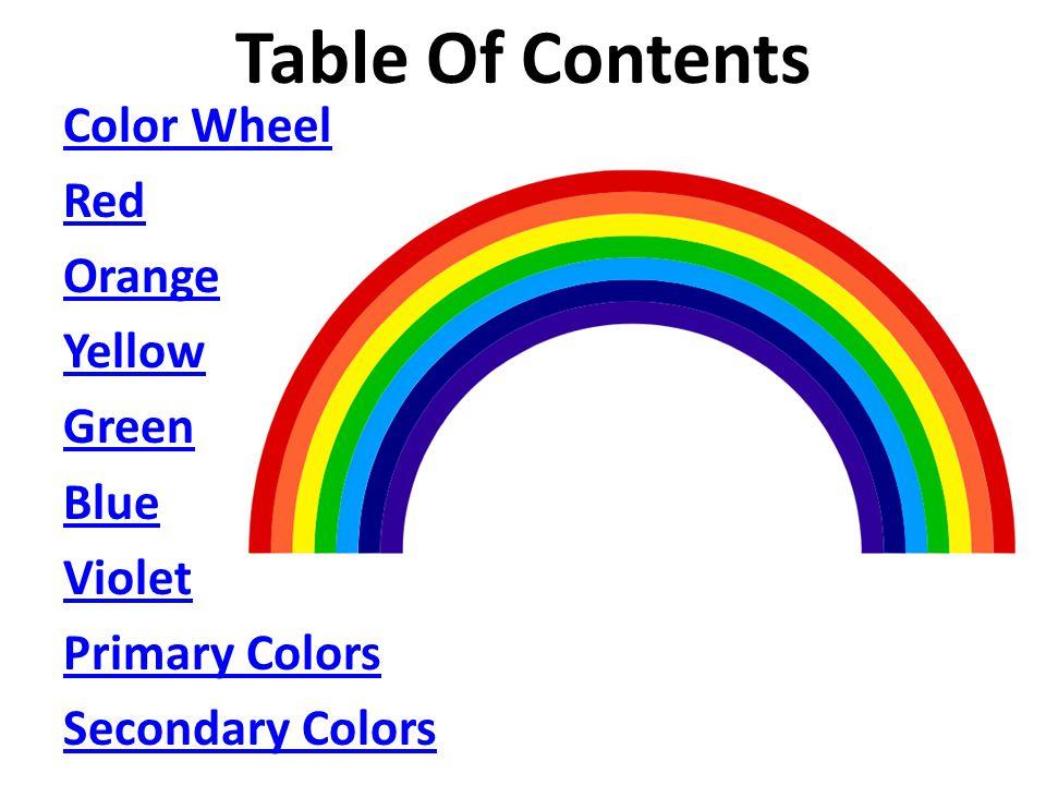 The Color Wheel Miss Sawyer Kindergarten Begin Lesson Plan Ppt
