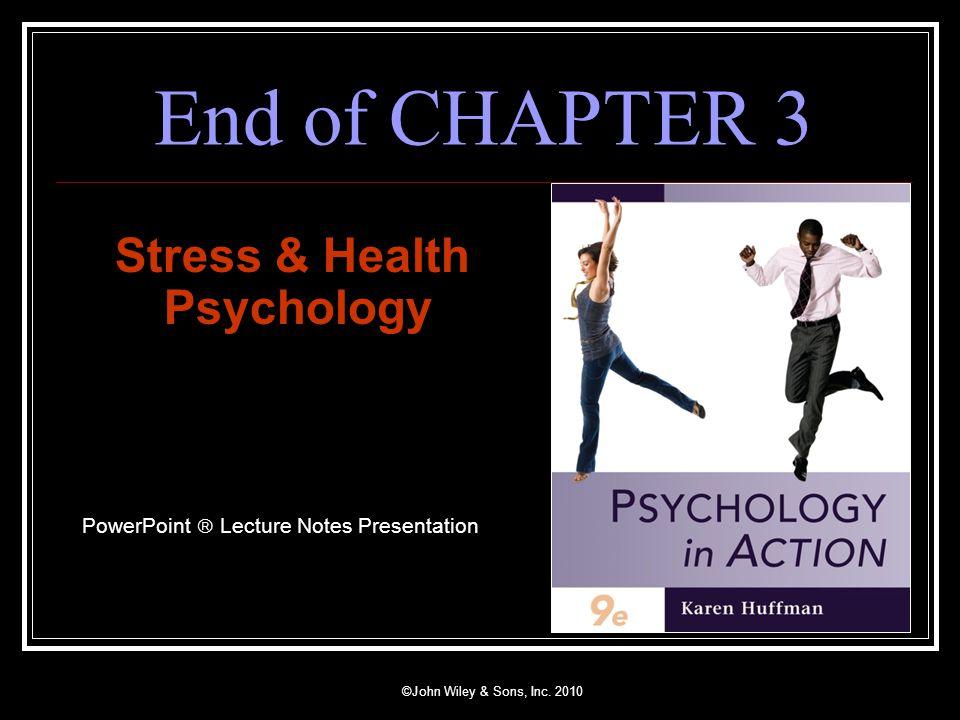 Stress & Health Psychology - ppt video online download