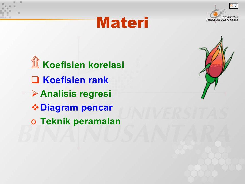 Analisis hubungan korelasi j ppt download 3 materi koefisien korelasi koefisien rank analisis regresi diagram pencar teknik peramalan ccuart Images